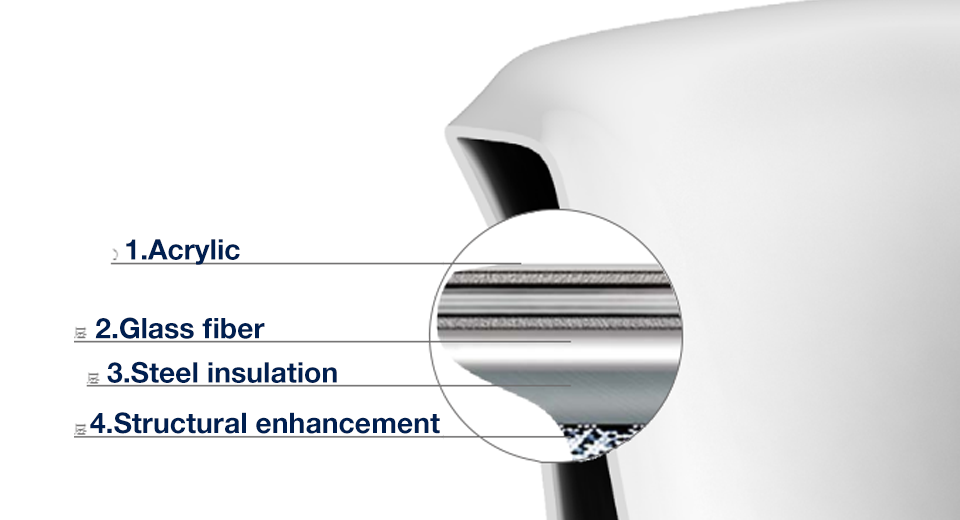 A integrated seamless cylinder technology