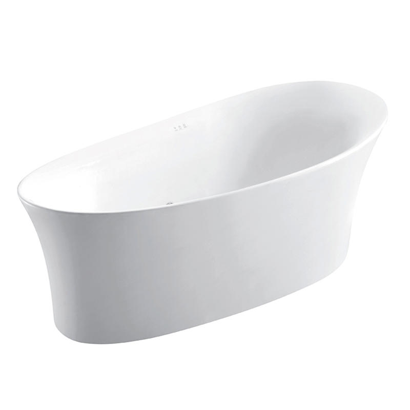 rimless wall hung toilet & massage bathtub