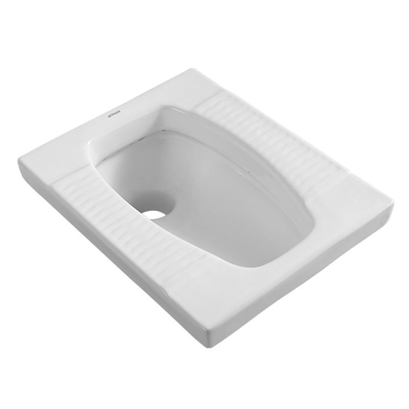 squatting pan & air bathtub