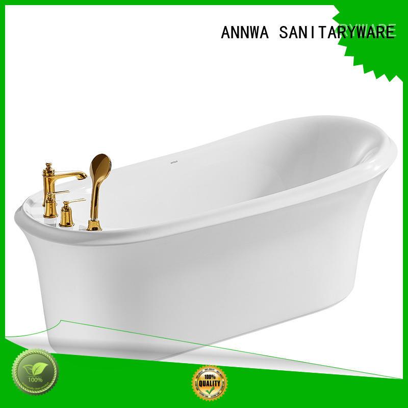 bathtub free standing bathtub n6w1718tq apartment ANNWA SANITARYWARE