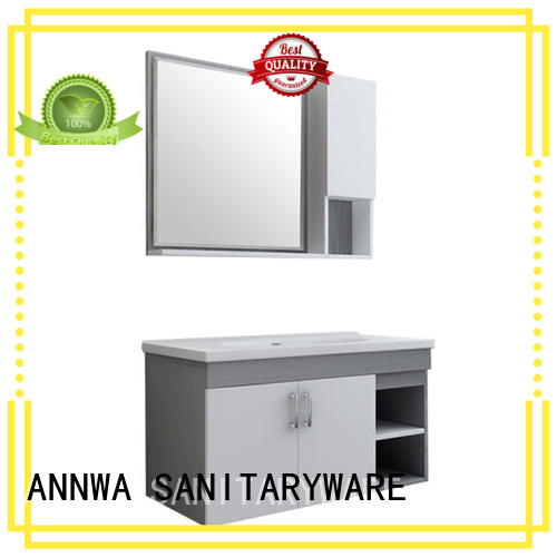 multi-functional storage particle board cabinets good stability apartment ANNWA SANITARYWARE