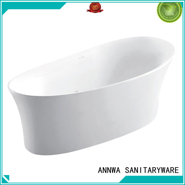 massage air bathtub touch control panel hotel ANNWA SANITARYWARE