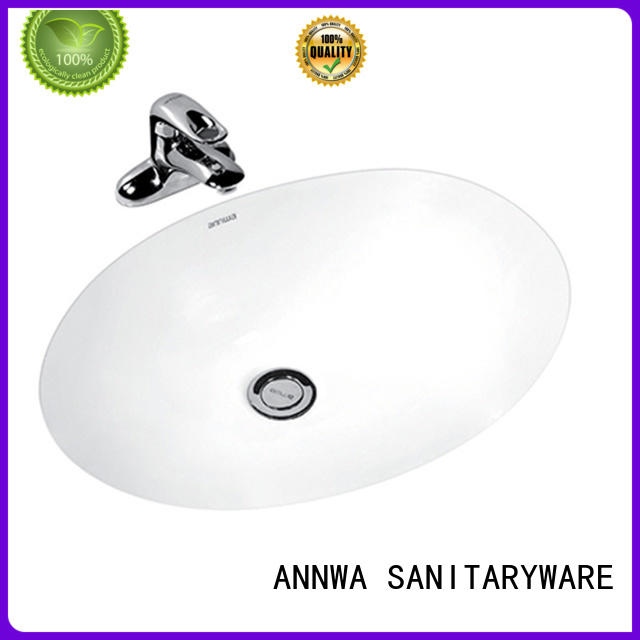 ANNWA SANITARYWARE self-cleaning under counter sink high quality household
