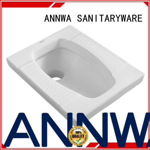 ANNWA SANITARYWARE ns05 toilet pan low water absorption apartment
