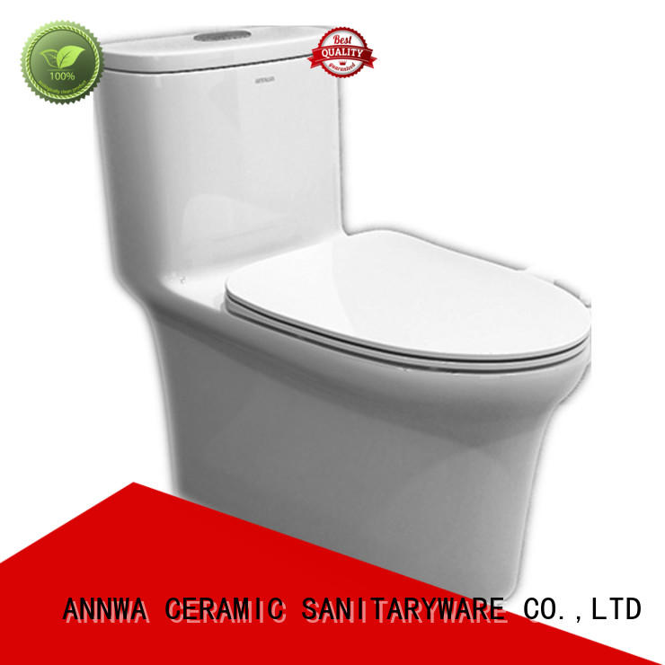 one-piece molding comfort height toilet double-speed household