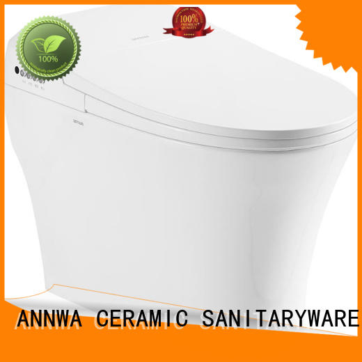 ANNWA SANITARYWARE seat cover ring descending electric toilet hot&cold massage apartment