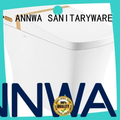 ANNWA SANITARYWARE easy to disassemble high tech toilet i7 hotel