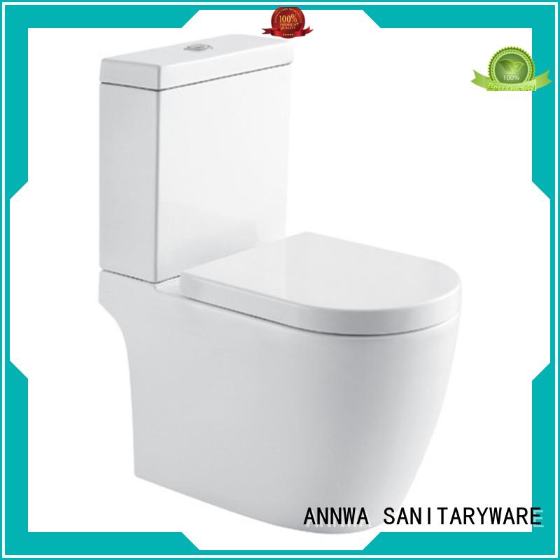 Two-piece toilet classic shape hotel ANNWA SANITARYWARE